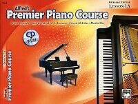 ALFRED PREMIER PIANO COURSE Lesson Bk+CD Level 1A