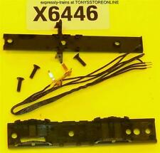 hornby oo spares x6446 1x chassis bottom/pick ups/screws for hunt/county cl loco