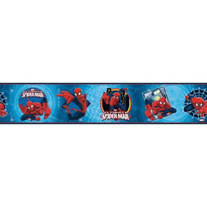 Marvel Spider-Man boarder RoomMates ZB3262BD  FREE POSTAGE