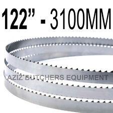 "Butchers Meat Bandsaw Blades (10 Pack). 122"" (3100mm) X 5/8"" X 4tpi"