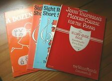 Lot of 4 - Piano Lesson Books