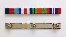 WW2 Medal Ribbon Bar 39-45 Star France & Germany Star Defence & War Medal