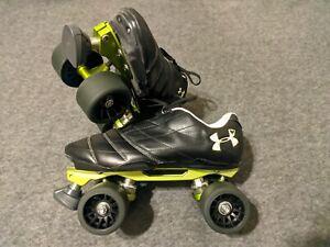 Quad Speed Skates, Crazy Skates Venus Plates, Under Armour Soccer Cleats,...