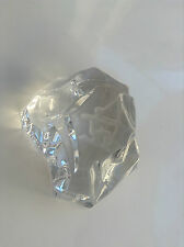Joli presse papier  cristal de val Saint Lambert No sulfure