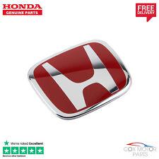 Genuine Honda Civic Type-R EP3 Rear Red H Badge 2001-2005