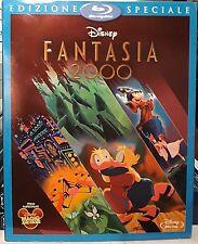 FANTASIA 2000 - BLU RAY Walt Disney con SLIPCOVER 1a Edizione NUOVO