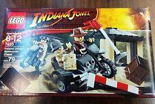 NISB LEGO Indiana Jones Motorcycle Chase 7620 - Free US Shipping