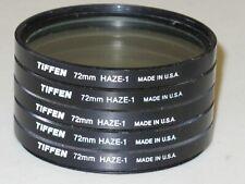 72mm Tiffen UV Haze 1 Filter Excellent     #72m8bw6+