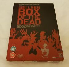 George A Romero BOX OF THE DEAD Night Of The Living Dead, Dawn Of The Dead 5 DVD