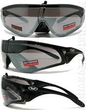 Global Vision Python Silver Mirror Padded Safety Glasses Sun Mirrored Z87.1