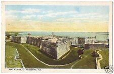Vintage Postcard Fort Marion St Augustine Florida 1926
