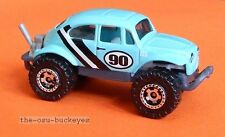 2007 Matchbox Loose Volkswagen Beetle 4X4 Baby Blue Combine Shipping Very Cool