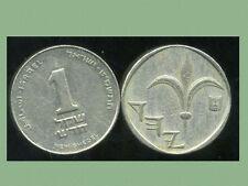 ISRAEL 1 new sheqel  1989  ( bis )