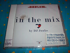 Harlem In The Mix CD by DJ Junko Japan Import OBI Strip