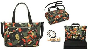 TUMI Mauren Voyageur Collection Lily Abstract Floral Print Tote 109988-8605 $325