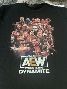 AEW Dynamite Rampage Milwaukee I Was There Black Shirt XL CM Punk Event 8/25