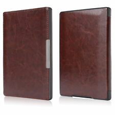 "Slim Leather Magnetic Auto Sleep Cover Case for Kobo Aura h2o 6.8"" eReader eBook"