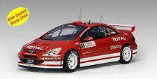 PEUGEOT 307 WRC 2004 Rallye Monte Carlo 2004 #5 Grönholm Rautia AUTOart AA 1:18