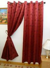 "Marly 60"" X 90"" Jacquard Window Curtain with Grommets by Venice Collections"