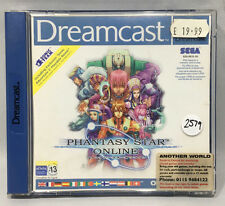 PHANTASY STAR ONLINE SEGA DREAMCAST GAME PAL