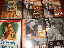 LOTTO 16 DVD JOHN WAYNE ROMANZO NEL WEST IL PRIMO RIBELLE SENTIERI SELVAGGI