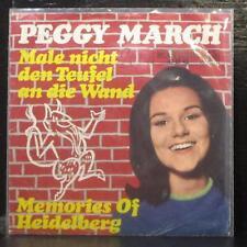 "Peggy March - Male Nicht Den Teufel An Die Wand 7"" VG+ Vinyl 45 RCA Germany 1966"
