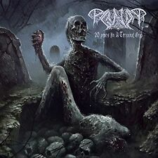 PAGANIZER-20 YEARS IN A TERMINAL GRIP-DOBLE CD-death-metal-grave-dismember