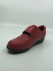 Dr Scholls Red Quilted Oxford Advanced Comfort Series Shoes Size 6M E68-25