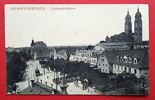 AK DRESDEN Strehlen um 1910 Dohnaer Strasse mit Strassenbahn ( 16743
