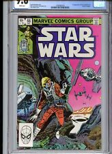 Star Wars #66 CGC 9.8 White Pages Tie Fighters