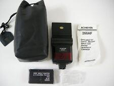 Achiever 260 AF Speedlite w/ filter set