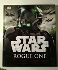 STAR WARS ROGUE ONE - THE ULTIMATE VISUAL GUIDE GUERRE STELLARI 2016