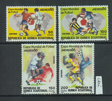XG-Z680 EQ. GUINEA - Football, 1986 Mexico '86 World Cup MNH Set