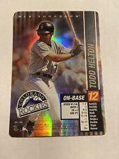 MLB Showdown 2002 Todd Helton Colorado Rockies FOIL