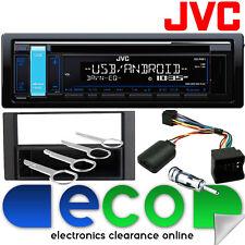 FORD C MAX 2004 - 2010 JVC CD MP3 USB AUX AUTORADIO STEREO VOLANTE KIT