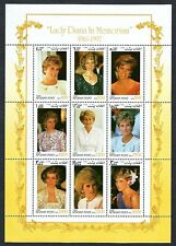 Lady Diana in Memoriam 1961 - 1997 Stamps Sheet Afghanistan