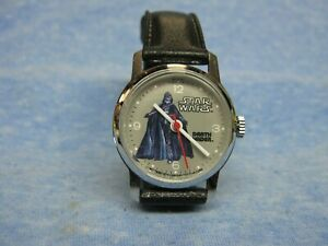 Child's 1977 Vintage STAR WARS - Darth Vader - Mechanical Watch by BRADLEY