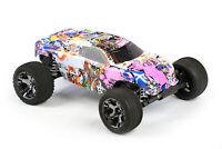 Custom Body Graffiti Pig for Traxxas Rustler 2WD 1/10 Truck Car Shell Cover 1:10
