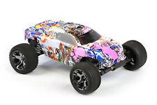 Custom Body Graffiti Pig for Traxxas Rustler VXL 1/10 Truck Car Shell Cover 1:10
