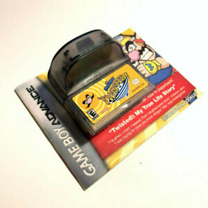 WarioWare: Twisted Cartridge & Manual (Tested) (Nintendo Game Boy Advance, 2005)