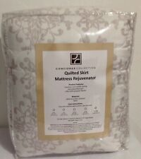 Concierge Collection Quilted Skirt Mattress Rejuvenator - Brand New - Cal King