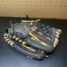 "New listing Rawlings Youth Baseball Glove Mitt 11 1/2"" PM115MNF Black RHT The Golden Glove"