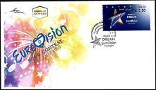 ISRAEL 2019 - TEL AVIV EUROVISION - TEL AVIV # 450 ATM LABEL - FDC
