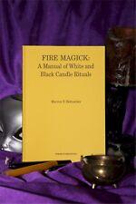 FIRE MAGICK A Manual of White & Black Candle Rituals Finbarr Occult  Magic Book