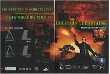 Vintage/Retro 3DFX Voodoo 5 5500 Graphics Card Deus Ex Print Ad Promo 2000