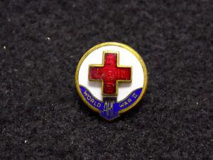 WWII American Red Cross Men's Domestic Service Pin 1945
