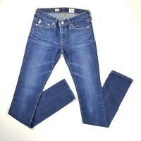 AG Adriano Goldschmied Womens Size 24R Premiere Skinny Straight Med Wash Jeans