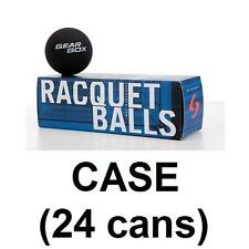 Gearbox Racquetballs (24 boxes) 3 pack Sleek Black
