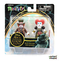 Alice through the Looking Glass Minimates Series 1 Mad Hatter & Red Queen