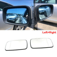 Right+Left Wing Mirror Glass White Heated for BMW 3-Series E46 Saloon 1998-06 UK